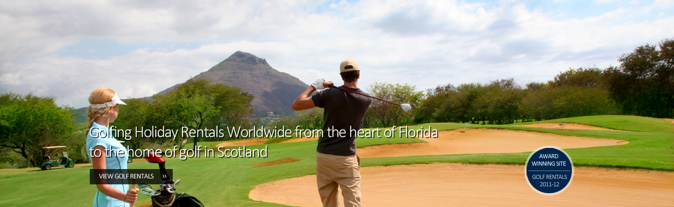 Golf Holiday Rentals By Owners Worldwide