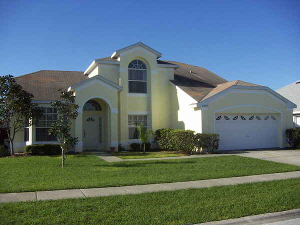 5 Bedroom Vacation House In Kissimmee Orlando Florida Sleeps 12 With